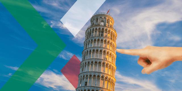 Italy push EU markets